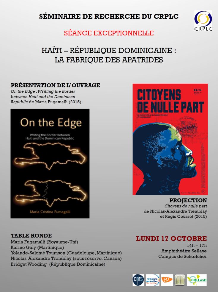 Séminaire Haïti – République Dominicaine : La fabrique des apatrides